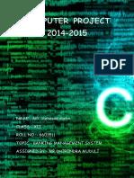 Computer Project 2014 Matin