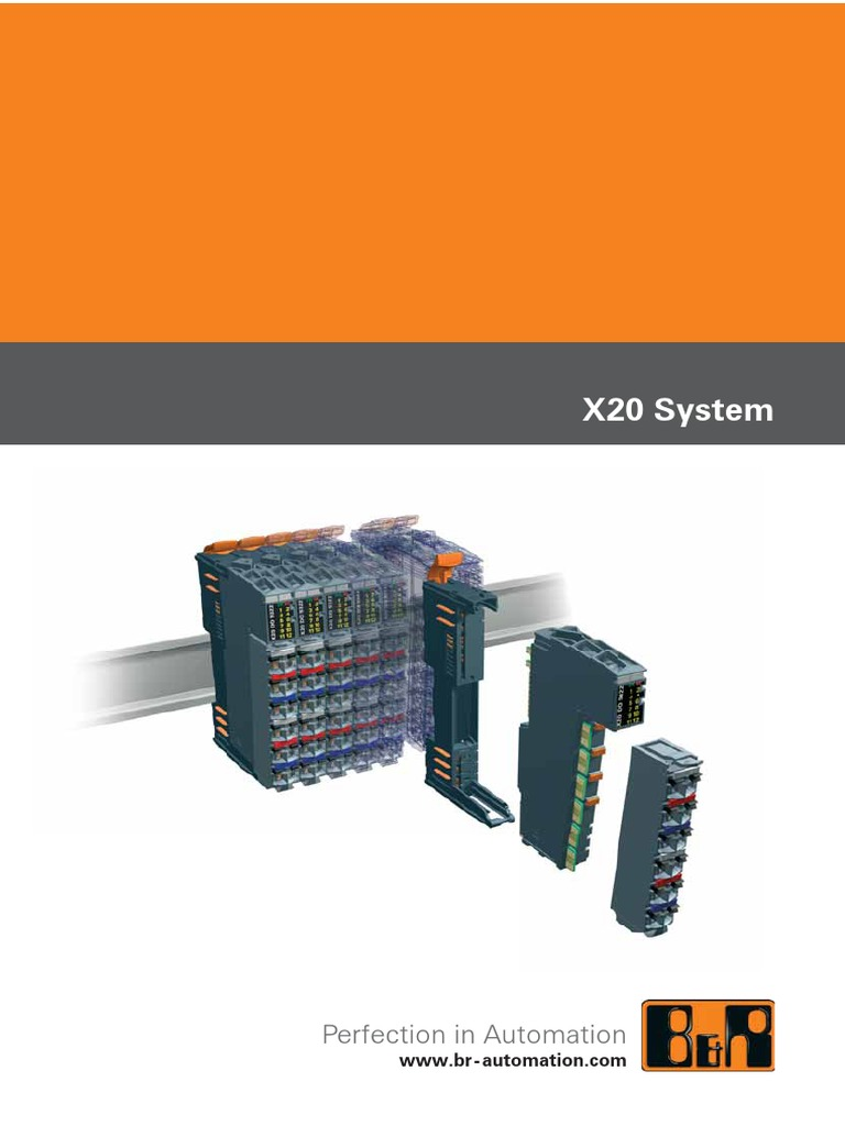 B/&r X20TB12 Push-In Terminal