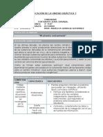 CTA - Planificación Unidad 7 - 3er Grado