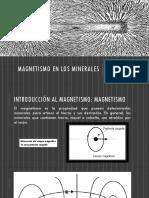 Magnetismo en Los Minerales
