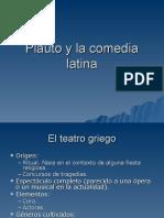 Plauto y la comedia latina