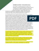 Capítulo III Régimen de Control y Fiscalización Artículo