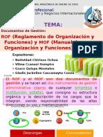 Exp. MOF y ROF - Comunicación Empresarial