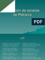 Selección de sonetos de Petrarca