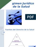 Regimen Juridico de La Salud