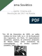 Cinema Soviético Slides