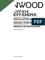 Kvt-514 Instalation Manual