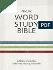 NKJV Word Study Bible