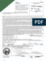 Superior Court of El Dorado County Complaint Filed 05/24/2010