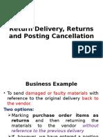 Posting Cancellation