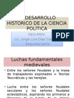 El Desarrollo Historico de La Ciencia Politica-2