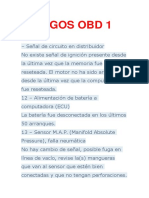 CODIGOS OBD 1