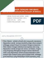 Plate Shaker Dengan Inkubasi