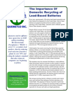 Quemetco Domestic Recycling Importance (English)