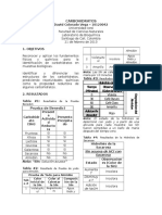 Identificacion de Carbohidratos Reductores