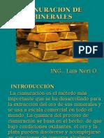 Cianuración de Minerales PLANEAMIENTO