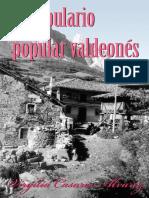 Vocabulario Popular Valdeonés