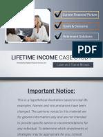 Lifetime Income Series - Luke & Elaine Brown