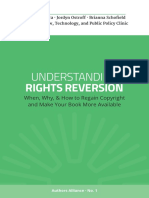 Authors Alliance - Understanding Rights Reversion