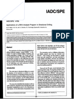 SPE-14765-MS-Applications of a BHA Analysis Program in Directional Drilling