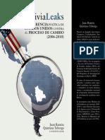 Libro 'Bolivia Leaks,  la injerencia política de EE.UU. contra el Proceso de Cambio'