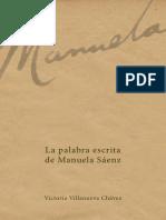 La Palabra Escrita de Manuela Sánez