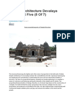 Temple Architecture Devalaya Vastu -Part 5