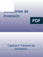 Capítulo N° 2 Factores de conversión