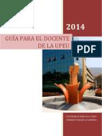 Manual Del Docente universitarop