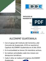 Patología Pavimentos de Concreto