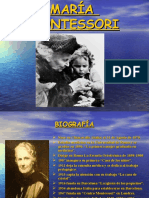 Maria Montessori Trabjo Escuela
