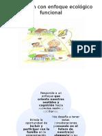 Currículum Con Enfoque Ecológico Funcional
