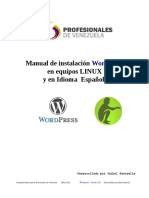 Ojo VZLA Manual Instalacion Wordpress
