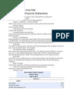 acct 2600 exam 1 study sheet