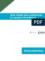 Guía de Medición Equipo Biomedico