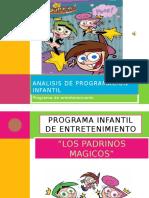 Analisis de programacion infantil