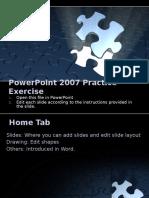 MSPowerPoint2007 Practice Sample File