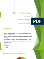 Group 2 Microsoft's Search Case