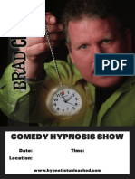 30741 Brad Clark Hypnosis Poster PROOF