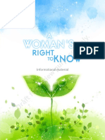 Texas 'A Woman's Right to Know' booklet