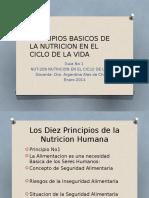 Principios Basicos de La Nutricion en El Ciclo