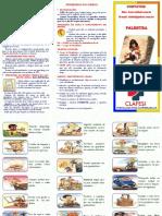 Folder - Prevenção de Acidentes Na Infância - 2016
