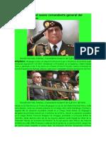 Oqueguano Es El Nuevo Comandante General Del Ejército Peruano