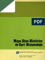 Mapa etno-histórico de Curt Nimuendaju
