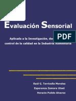 3007971 Evaluacion Sensorial de Alimentos 2007 Evaluation Sensorial in Food Cuba