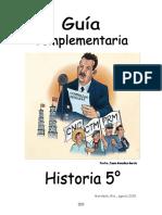 04 Historia 5° grado  15-16