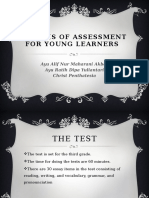 Analysis of Assessment for Young Learners