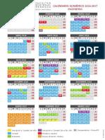 Calendario 2016 UTN FRM