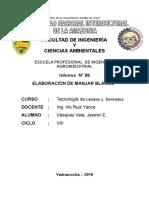 ELABORACIÓN DE DULCE DE LECHE