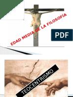 Edad Media y Moderna de La Filosofía